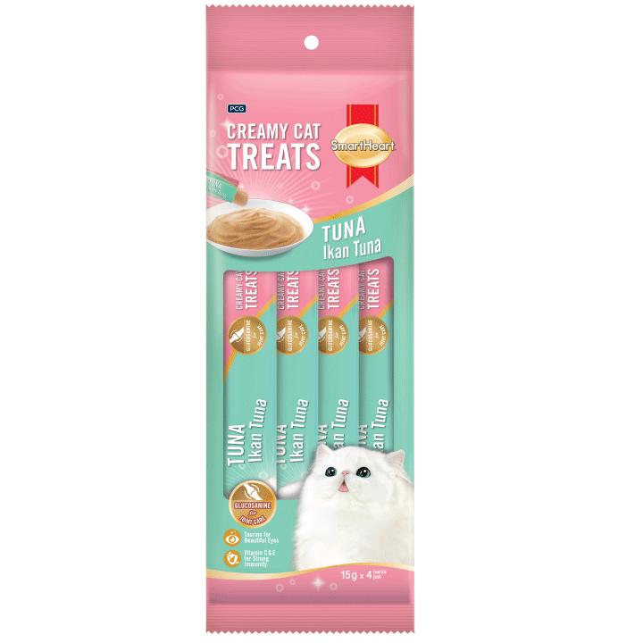 SmartHeart Creamy Treats – Tuna Flavor